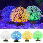 Fish Tank Ornaments Artificial Fake Coral Aquarium Plants Background Fish Tank D