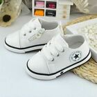 1 pair Baby Girls Boys Canvas Shoes 1-3 Years Old Comfortable Kids Toddler