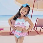 Внешний вид - Girls Swim Suit Pink & Aqua Smocked Whales Two Piece Babeeni NWT 12m