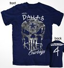 THE DALLAS KILLERS SKULL COWBOYS Genuine Fan Tailgate  T- Shirt