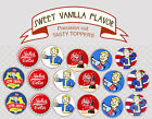 Fallout Vault Boy Nuka Cola Computer game Party cupcake Toppers Cup Cake