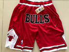 New Men's Chicago Bulls big LOGO Basketball Retro pants Mesh Red on eBay
