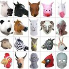 Creepy Horse Lion Octopus Hippo Rubber Animal Mask latex party Panda Animal Mask
