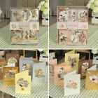 12 cards+12 envelopes gift card making set birthday/vintage/elegant card making