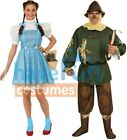 Couples Costumes Adult Dorothy Scarecrow Wizard of Oz Halloween Rubies