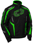 Castle Mens Blade G3 Snowmobile Cold Weather Winter Snow Jacket Coat Green Black