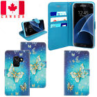 For Samsung Galaxy A8 2018 Shockproof PU Leather Wallet Flip Stand Case Cover