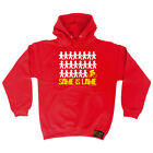 Cycling Hoodie Hoody Funny Novelty hooded Top - Same Is Lame Cyclist