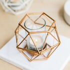 8Pcs 3D Geometric Wedding Christmas Candlestick Votive Candle Tealight Holder