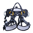 Safety Fall Protection Harness Seat Belt Tree Climbing Rappelling Gear Equipment