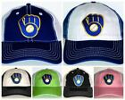 Milwaukee Brewers Retro Snapback Cap ⚾Hat ⚾CLASSIC MLB Patch Logo ⚾7 Colors ⚾New