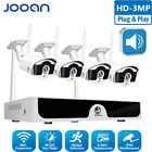 JOOAN 8CH 1080P NVR System 2MP WIFI IP HD Video Security CCTV Outdoor Camera Kit