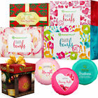 Внешний вид - Bath bomb gift sets,fizzies with essential oil,natural homemade spa body bubbles