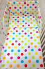 Luxury 3 Pieces Nursery- Baby Bedding Set Bumper-PILLOW-QUILT COVER Bow Free !!!