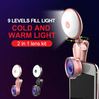 Selfie LED Light Ring Fill Camera Flash For Mobile Phone iPhone Samsung WB1