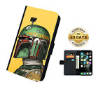 Star Wars Characters Leather Flip Case Samsung iPhone Cover Wallet $19.99 AUD on eBay