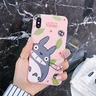cute Cartoon totoro Soft UNBreak Phone Case Cover For iPhone X 6 7 8  XS Max