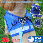 Kyпить Small Dog Breathable Mesh harness Vest Collar soft chest strap XXS-L Leash set  на еВаy.соm