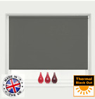 Blackout Roller Blinds Thermal Easy Fit Trimmable Up To 240cm Width Many Colours