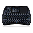 IPazzPort KP - 810 - 61 Mini Handheld 2.4GHz Wireless Backlit Keyboard Touchpad