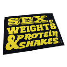 Gym Sweat Microfiber Sports Towel Bodybuilding Funny Sex Weights And Protein Sha