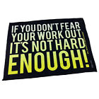 Gym Sweat Microfiber Sports Towel Bodybuilding Funny If You Dont Fear Your Worko