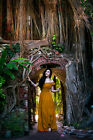 Renaissance Peasant Wench Pirate Faire Gown Boho Hippie Sun Dress  PRE ORDER