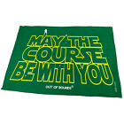 Golf Microfiber Sports Towel Funny Novelty Sweat Rag May The Course Be With You