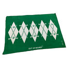 Golf Microfiber Sports Towel Funny Novelty Sweat Rag - Out Of Bounds Logo