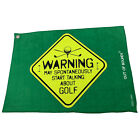 Golf Microfiber Sports Towel Funny Novelty Sweat Rag Warning May Spontainously S