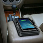 Qi Wireless Charger Car Dashboard Holder Mount Non-Slip Pad Mat for Samsung Gift