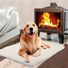 Dog Pet Mat Bed Pad Self Heating Soft Warm Cat Rug Thermal Washable Pillow US P1