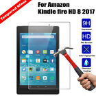 Premium Tempered Glass Screen Protector For Kindle fire 7 2017 2018 7th/ HD 8