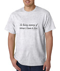 Unique T-shirt Gildan In Loving Memory Of When I Gave A Sh!t Cared