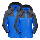 Hot Outdoor Mens Hoodie Waterproof Jacket Snow Coat Hiking Winter Ski Sport Tops