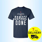 Boston Red Sox World Series Champions 2018 Damage Done T shirt Full Size Navi on Ebay