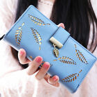 Girl Women Lady PU Leather Clutch Wallet Long Card Holder Purse Box Bag Handbag