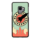 PLANET EXPRESS FUTURAMA Samsung Galaxy S4 S5 S6 S7 Edge Plus S8 S9 Case Cover