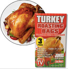 Jumbo Turkey Size Roasting Bag Microwave Oven Poultry Chicken Meat Fish