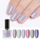 BORN PRETTY 6ml Nude Shimmer Nail Polish Glitter Nail Art Varnish DIY