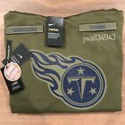 TENNESSEE TITANS 2018 Mens Nike NFL Salute to Service STS Therma Fit Hoodie New