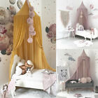 Princess Baby Mosquito Net Bed Kids Canopy Bedcover Curtain Bedding Dome Tent 1X image