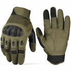 Touchscreen Tactical Cycling Motorcycle Combat Hard Knuckle Full Finger GlovesTactical Gloves - 177898