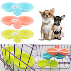 cat dog cage hanging bowls pet feeding bowls firm thick pet food double bowl ßß