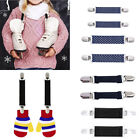 Внешний вид - Stainless Steel Mitten Clips Elastic Glove And Mitten Clips For Kids 1 Pair XI