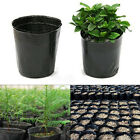 New 100Pcs Plastic Nursery Pot Seedlings Flower Plant Container Garden Seed Lot