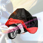 Universal Outdoor Motorcycle Motorbike ATV Scooter Sun Dust Protective Cover Red