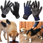 Pets Grooming Gloves Dog Cat Horse Hair Cleaning Massage Brush Deshedder Tools
