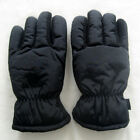 Ladies Finger Gloves Thermo Knitted Very Warm Heat Keeper BLACK S - XL