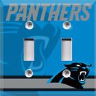 Football Carolina Panthers (Blue) Themed Light Switch Cover Choose Your Cover on eBay